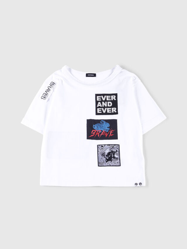Diesel - TJACKY, White - T-shirts and Tops - Image 1
