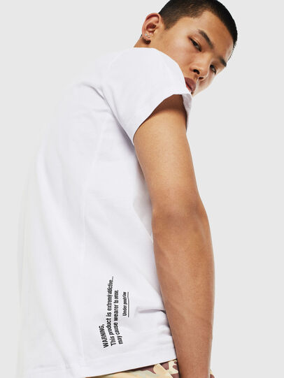 Diesel - T-HOVER, White - T-Shirts - Image 3