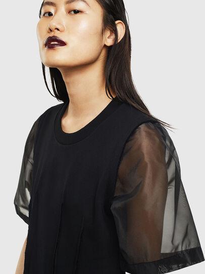 Diesel - D-GOLD, Black - Dresses - Image 3