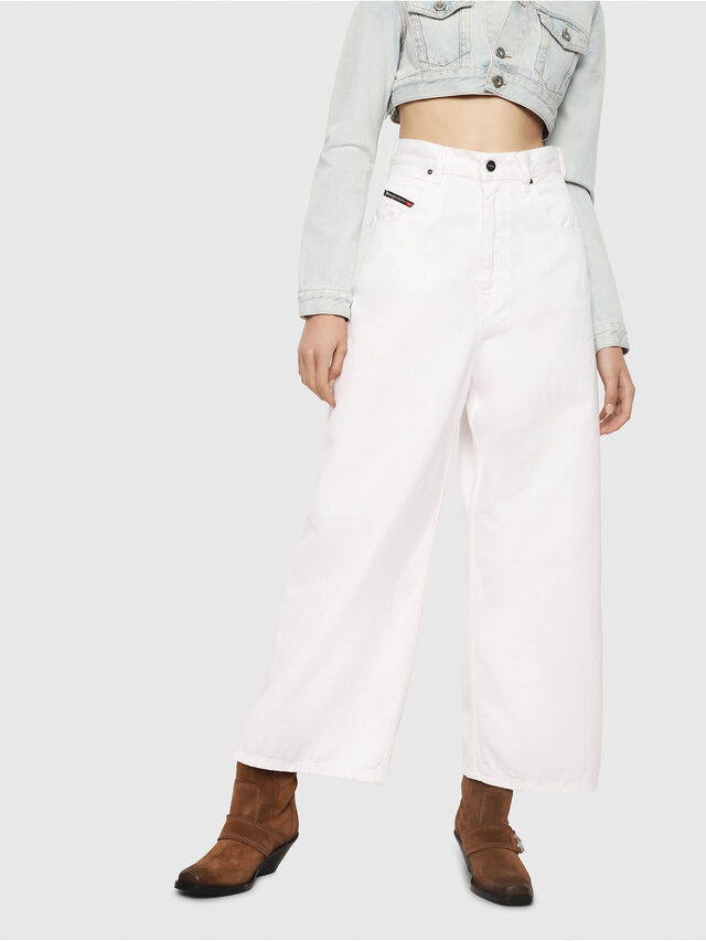 Diesel - D-Luite 069EE, White - Jeans - Image 1