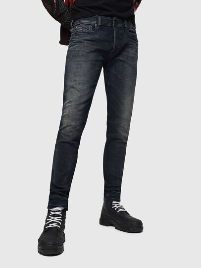 Diesel - Sleenker 0870J, Black/Dark grey - Jeans - Image 1