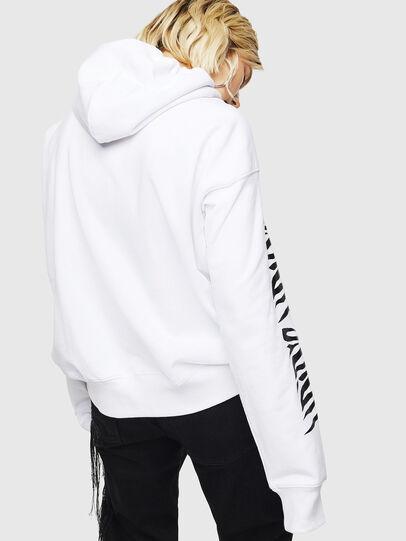 Diesel - F-ALBYHOOK-C, White - Sweaters - Image 2