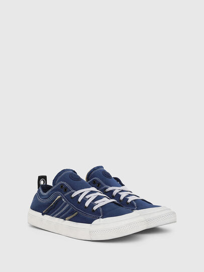 Diesel - S-ASTICO LOW LACE, Blue - Sneakers - Image 2