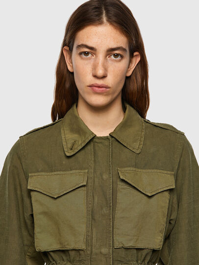 Diesel - G-CLAUDIA, Military Green - Jackets - Image 4