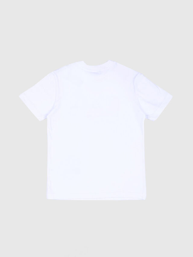 Diesel - TDIEGO, White/Red - T-shirts and Tops - Image 2