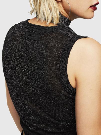 Diesel - M-TWINS, Black - Knitwear - Image 4