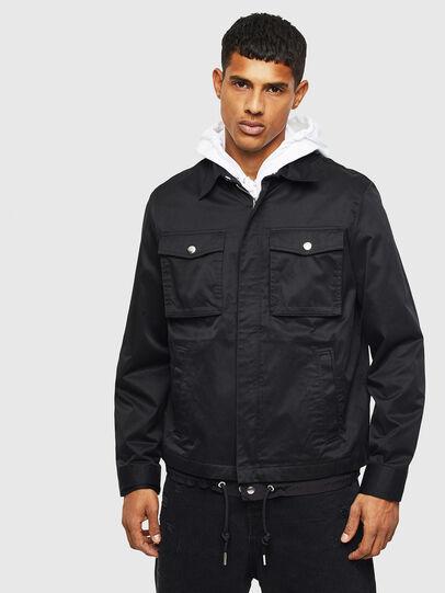 Diesel - J-BEGO, Black - Jackets - Image 1