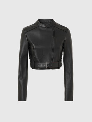 L-MIMYY, Black - Leather jackets