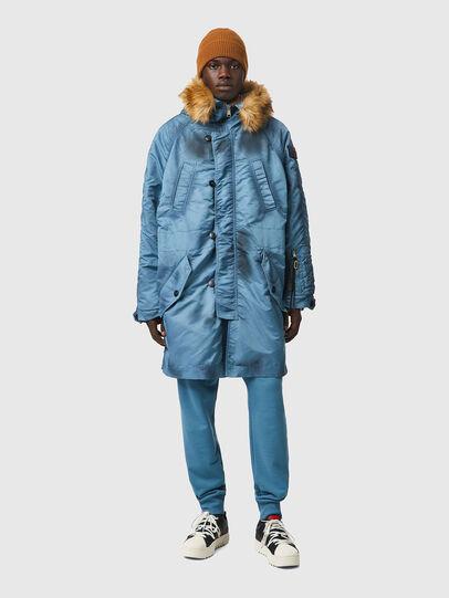 Diesel - W-CLAUD, Blue - Winter Jackets - Image 1