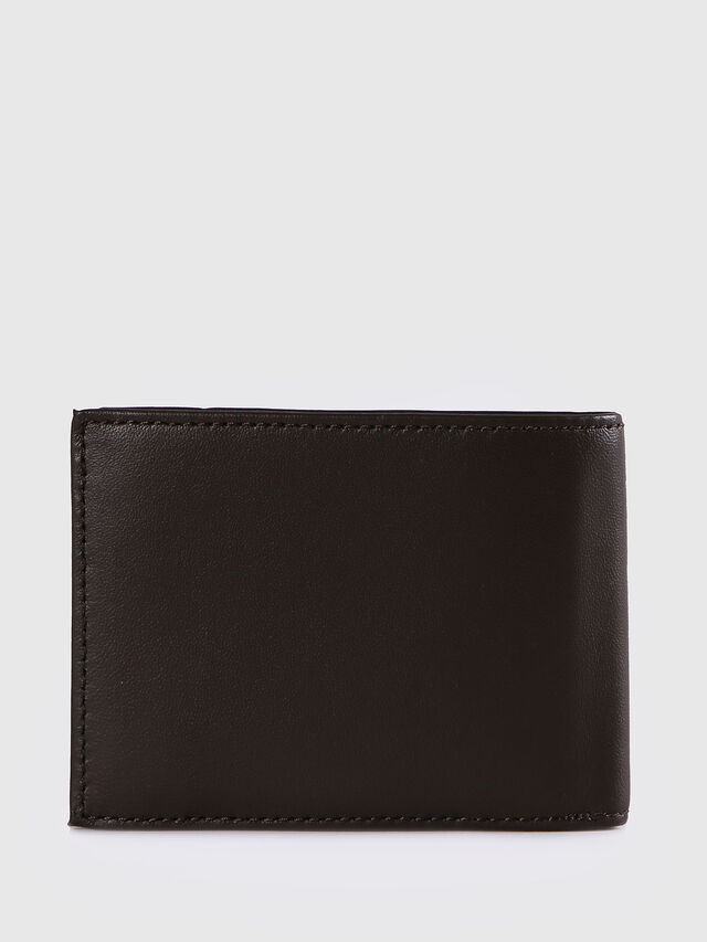 Diesel - HIRESH XS, Dark Brown - Small Wallets - Image 2
