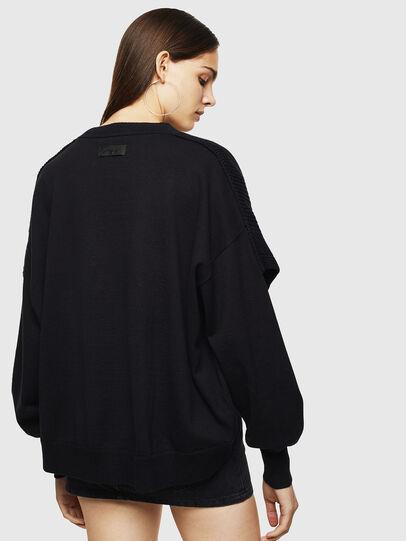 Diesel - M-NEXY, Black - Knitwear - Image 2