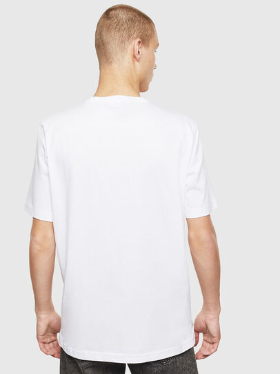 Diesel - T-JUST-T25, White - T-Shirts - Image 2