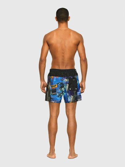 Diesel - BMBX-WAVE-Y, Black/Blue - Swim shorts - Image 2