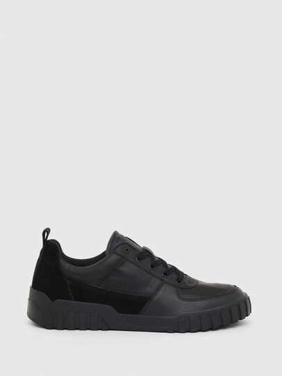 Diesel - S-RUA LOW, Black - Sneakers - Image 1