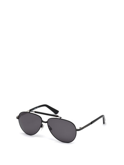 Diesel - DL0238, Black - Sunglasses - Image 4