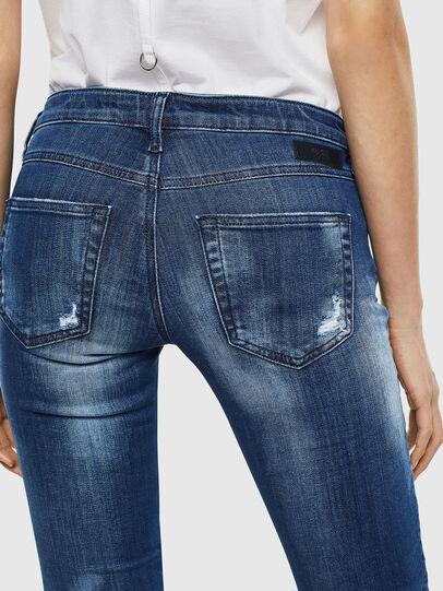 Diesel - Gracey JoggJeans 0099S, Dark Blue - Jeans - Image 5