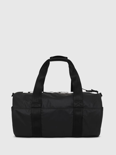 Diesel - F-BOLD DUFFLE, Black/White - Travel Bags - Image 2