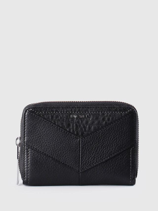 Diesel JADDAA, Black Leather - Small Wallets - Image 1
