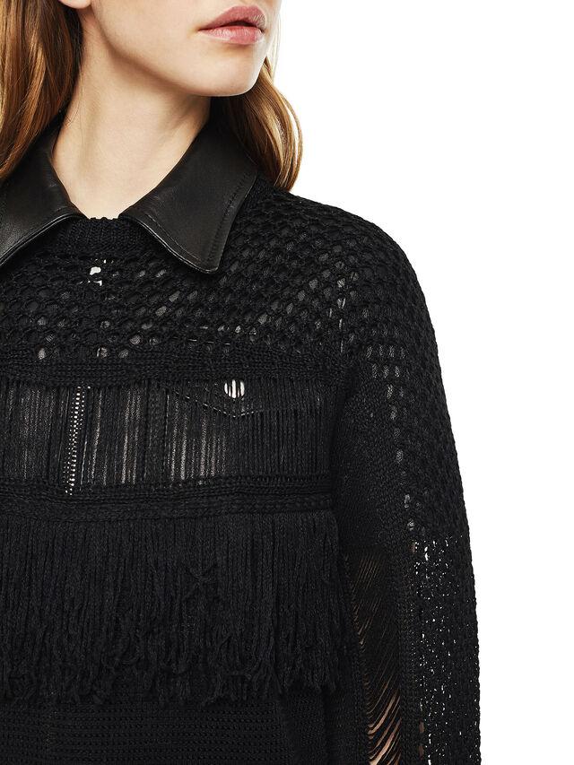 Diesel - MOFRAN, Black - Knitwear - Image 4