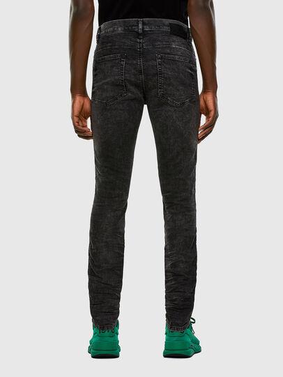 Diesel - D-REEFT JoggJeans® 009FZ, Black/Dark grey - Jeans - Image 2