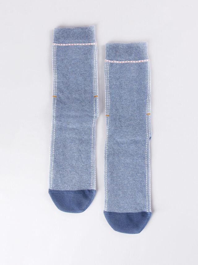 Diesel - SKM-RAY, Light Blue - Socks - Image 3