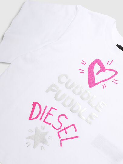 Diesel - TUNGIB-R, White - T-shirts and Tops - Image 3