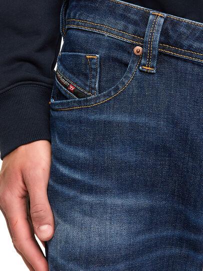 Diesel - Larkee 009MI, Dark Blue - Jeans - Image 4