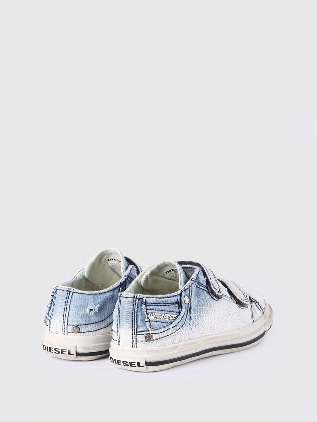 Diesel - SN LOW STRAP 11 DENI, Light Blue - Footwear - Image 3
