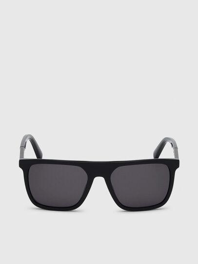 Diesel - DL0299, Black/Grey - Sunglasses - Image 1