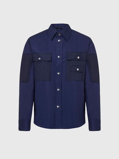 Diesel - S-AUSTIN, Blue - Shirts - Image 1