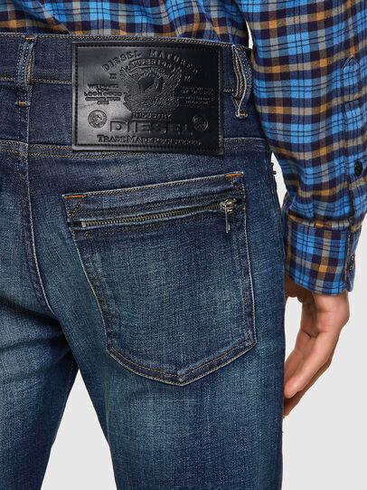 Diesel - D-Amny 09A27, Dark Blue - Jeans - Image 3