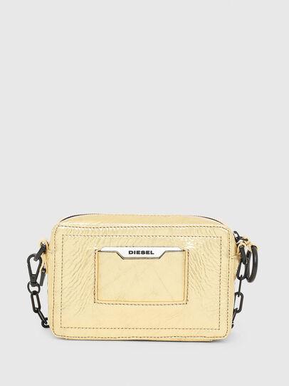 Diesel - ROSA' PCHAIN, Gold - Crossbody Bags - Image 2