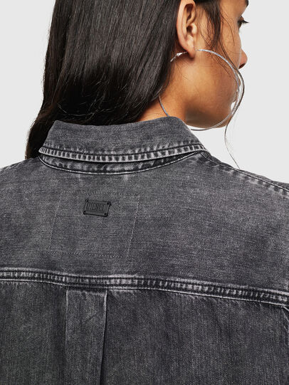Diesel - DE-COLLY, Black/Dark grey - Denim Shirts - Image 3
