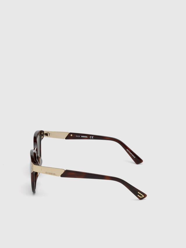 Diesel DL0234, Brown - Eyewear - Image 3
