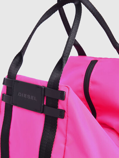 Diesel - CAGE SHOPPER XS, Pink Fluo - Bags - Image 2