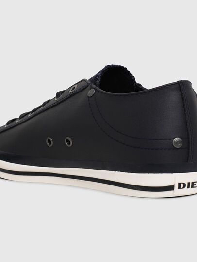 Diesel - EXPOSURE LOW I, Dark Blue - Sneakers - Image 4