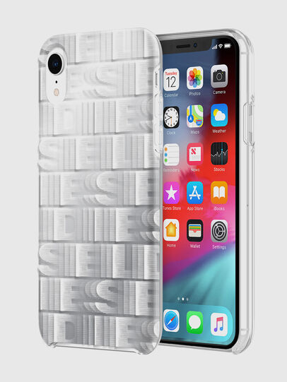 Diesel - DIESEL PRINTED CO-MOLD CASE FOR IPHONE XR, White - Cases - Image 1