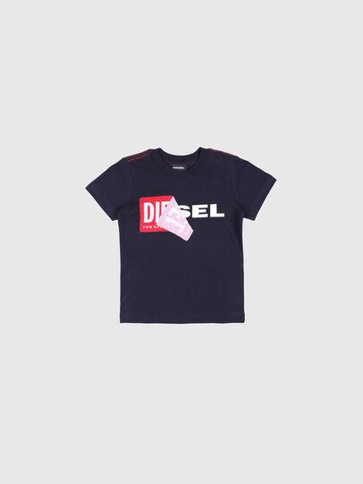 Diesel - TOQUEB MC-R, Black - T-shirts and Tops - Image 1
