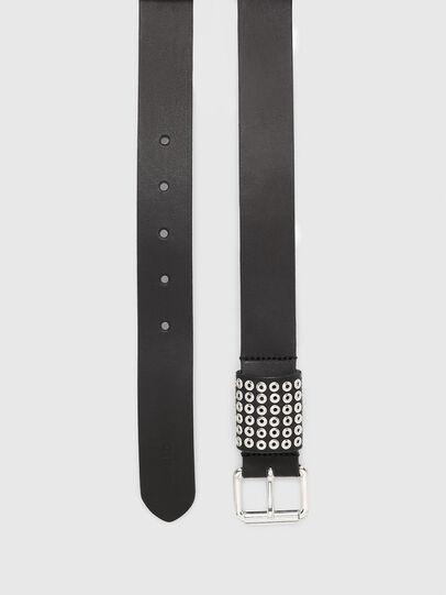 Diesel - B-OPPEANO, Black - Belts - Image 3