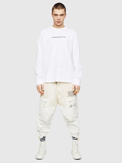 Diesel - T-JUST-LS-COPY, White - T-Shirts - Image 5