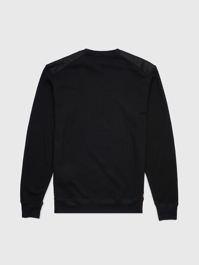 Diesel - UMLT-WILLY-W, Black - Sweaters - Image 2
