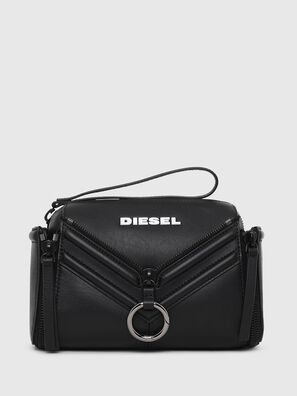 LE-ZIPPER CROSSBODY, Black - Crossbody Bags