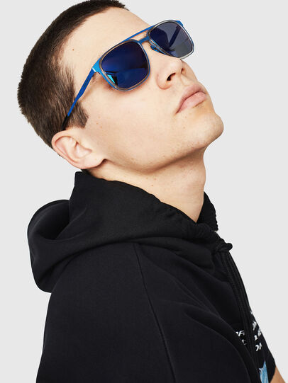 Diesel - DL0294, Blue - Sunglasses - Image 5