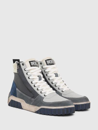 Diesel - S-RUA MID, Grey - Sneakers - Image 2