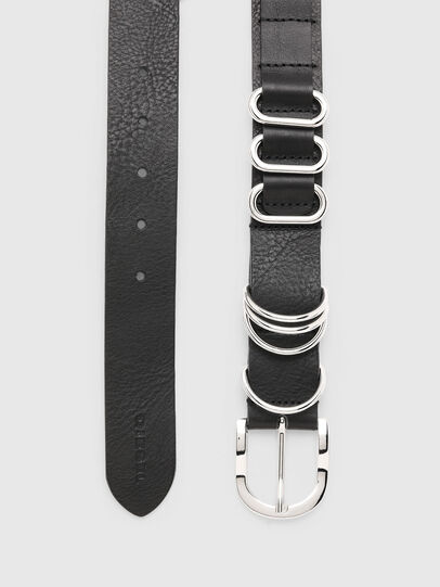 Diesel - B-MERRING, Black - Belts - Image 4