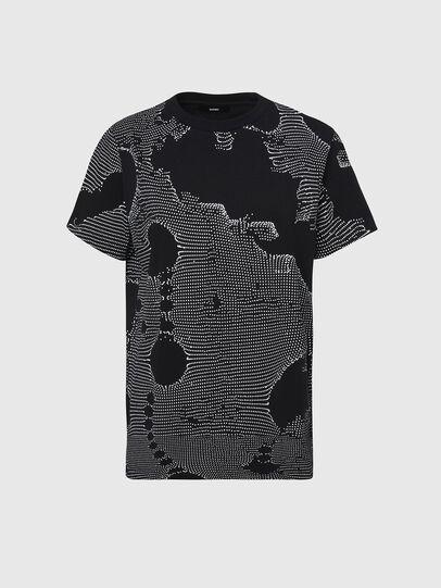 Diesel - T-DARIA-E4, Black - T-Shirts - Image 1