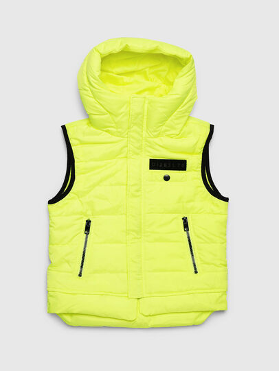 Diesel - JSUNREVSLESS, Yellow Fluo - Jackets - Image 1
