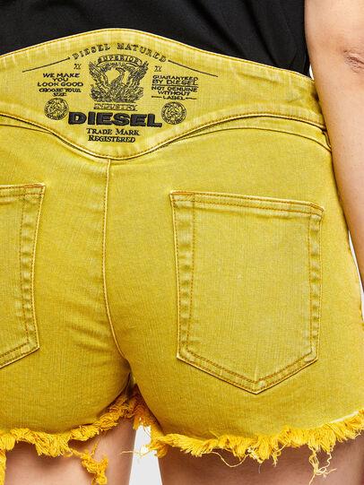 Diesel - DE-BATY-SP1, Yellow - Shorts - Image 4