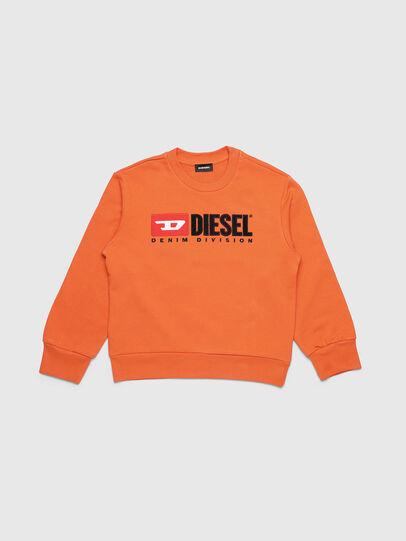 Diesel - SCREWDIVISION OVER, Orange - Sweaters - Image 1