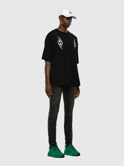 Diesel - D-REEFT JoggJeans® 009FZ, Black/Dark grey - Jeans - Image 5